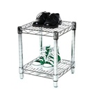 12 inch Wire Shelving Unit with 2 Shelves