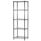 "18""d x 24""w Wire Shelving Unit with  Shelves"