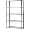 "18""d x 42""w Wire Shelving Unit with 5 Shelves"