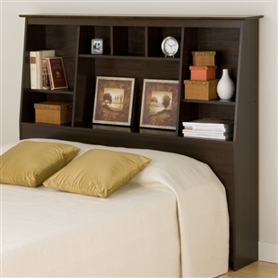 Full/Queen Bookcase Headboard - Tall