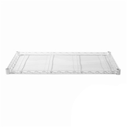 "18""d White Epoxy Wire Shelf"