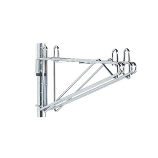 Adjustable Wall Mount Double Shelf Brackets