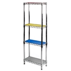 "8""d Colored Shelf Liners - 2pk"