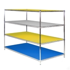 "36""d Colored Shelf Liners - 2pk"