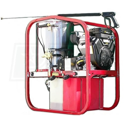 Hot2Go SK Series Professional 4000 PSI (Gas - Hot Water) Skid Mounted Pressure Washer w/ Electric Start Honda Engine