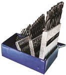 29PC BLACK OXIDE DRILL BIT SET