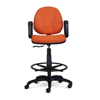 "9to5 Seating - Agent 10"" Low-Back Stool - 1462"