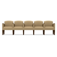 Lesro - The Belmont Series - 5 seats w/Center Arms