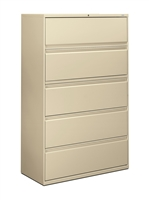 HON - Brigade 800 Series 5 Drawer Lateral