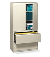 HON - Brigade 800 Series 2 Drawer Lateral File Storage Combo