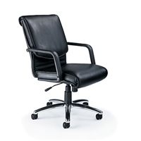 Mayline - Mercado Leather - Alliance Desk Chair