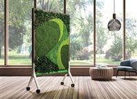 Claridge - MIX Biophilic Panels - All Natural Preserved Plants on Mobiles