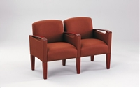 Lesro - The Brewster Series - 2 seats with Center Arm