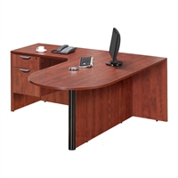 Pacific Coast Desk Classic Laminate Bullet L-Unit