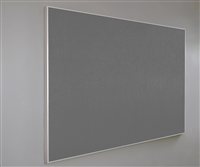 "Claridge - Concept - Tackboard with Narrow 5/16"" Aluminum Frame"