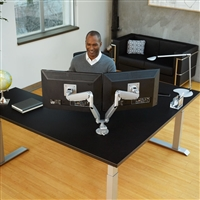 Workrite Ergonomics - Conform Dual Articulating Arm