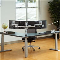 Workrite Ergonomics - Conform Triple Static Arm