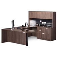 Pacific Coast Desk Classic Laminate Executive Bullet U-Unit