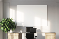 Claridge - Profile Series - Frameless Magnetic Whiteboard