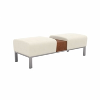 All Seating - Foster Double Bench with Table