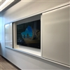 Claridge - Horizontal Sliding Units - LCS3 Porcelain Dry Erase Markerboards