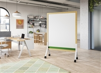 Claridge - MIX Contemporary Mobile - Full & Partial Height Mobile Markerboards & Tackboards