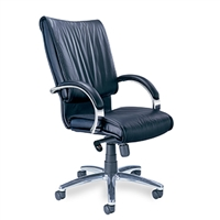 Mayline - Mercado Leather - President Chair