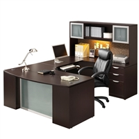 Pacific Coast Desk Classic Laminate Step-Front U-Unit