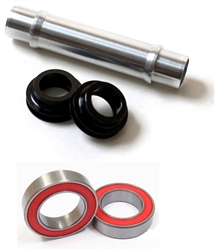 DT Swiss 240 QR Hub Quick Release to 15mm Thru Axle TA Adapters Conversion Kit (w/ Ceramic Bearings)