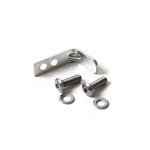 Aluminum L-Bracket L Bend for Retro Ringle Style Water Bottle H20 Cage