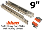 "9"" Blum Tandem Plus Blumotion Drawer Guides"