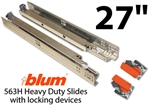 "27"" Blum Tandem Plus Blumotion Drawer Guides"