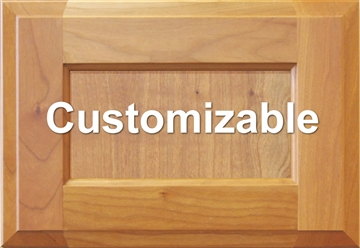 Custom Inset Panel Drawer Front
