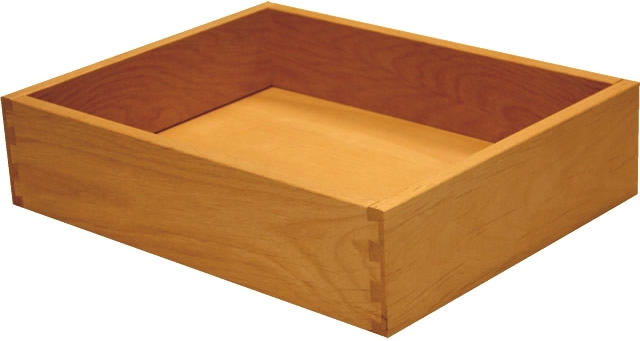Alder Dovetail Cabinet Drawer Box