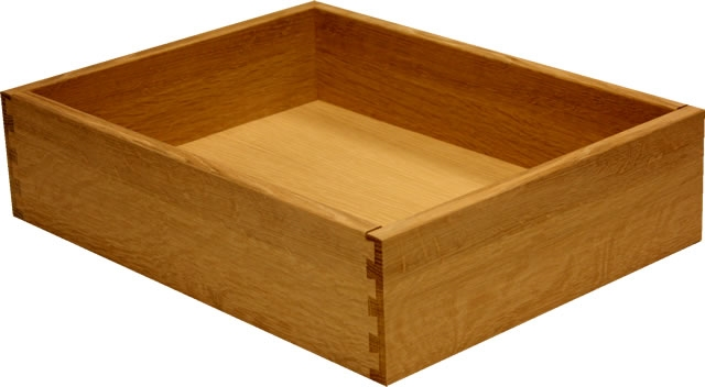 White Oak Quarter Sawn Dovetail Drawer Box