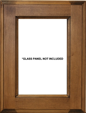 New York Glass Panel Cabinet Door