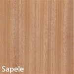 Sapele Unfinished Wood Veneer 4'X8'
