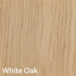White Oak Unfinished Wood Veneer 4'X8'