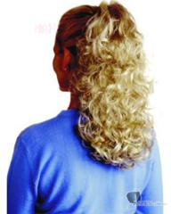 Medium Curl Easy Clip Hair Piece