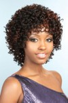 "Synthetic Medium Wig by Beshe.  Page with tight spiral curls.  Overall length: 12""   Longer lasting beauty with quality materials.  Everlast Curls ™, keeps perfect shape longer.  Cool comfortable designs for all day wearing.   <a class=colo"