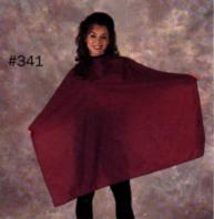 Shampoo/Hair-cutting Nylon Cape