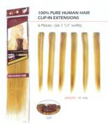 Human Hair Extensions-6pc