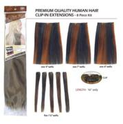 Remi Human Hair Extensions-7pc