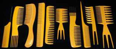 Bone Comb Set
