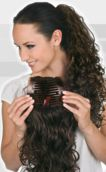 Layered Comb Curly