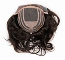 Martinique Human Hair Remy Lave Mono Topper