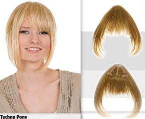 Techno Pony Bangs with Fringe