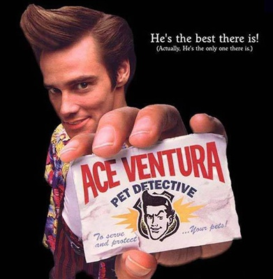 International Wigs 174 Ace Ventura Mans Wig By Lacey