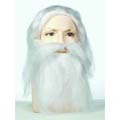 Bargain Father Time Wig and Beard Set