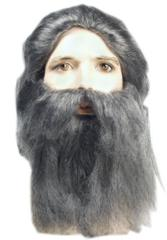 Bargain Set with Wig and Beard